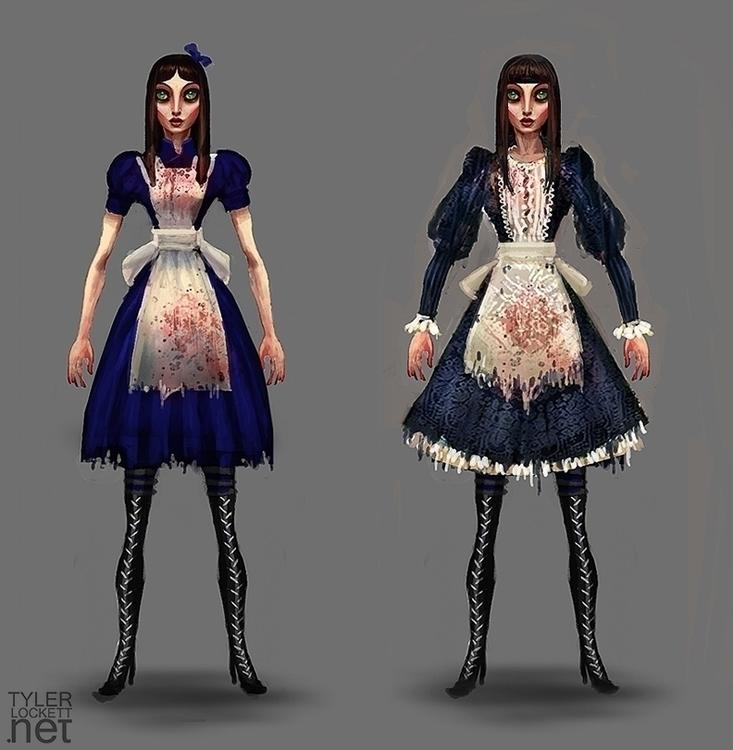 gameart, characterdesign, conceptart - tylerlockett | ello