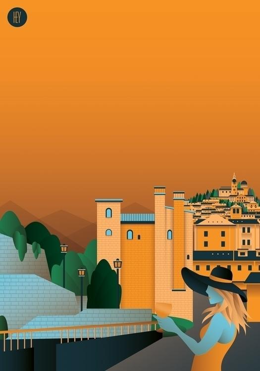 Muraglioni - Pinerolo - city, italy - oscarcauda | ello