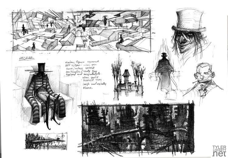 illustration, conceptart, design - tylerlockett | ello