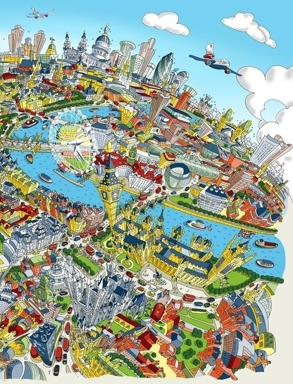 Zoom - hartwigbraun, london, birdseyeview - hartwigbraun | ello
