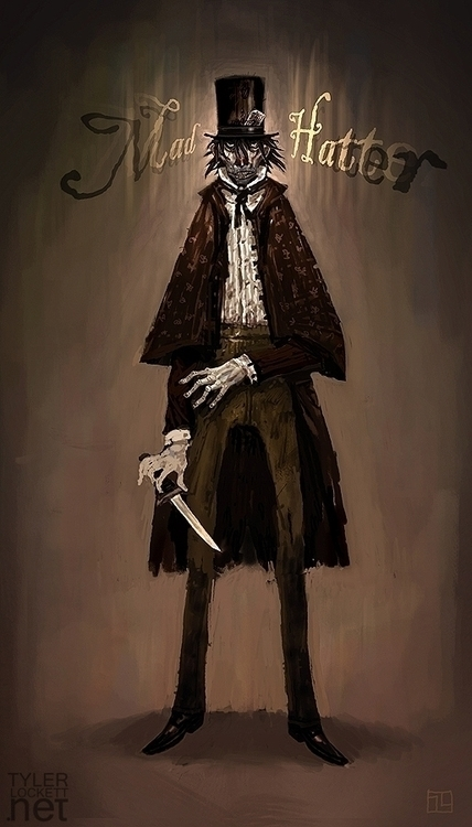 illustration, painting, characterdesign - tylerlockett | ello