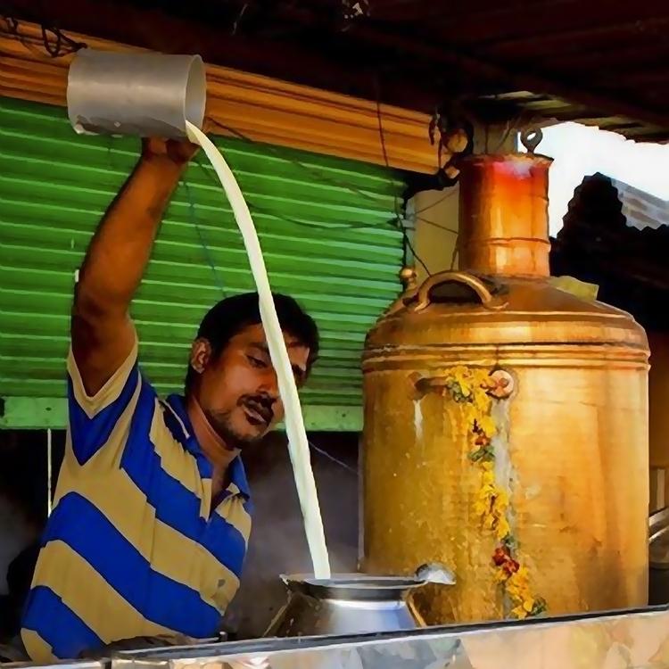 Tamil tea time - photography, photoshop - pierocefaloni | ello