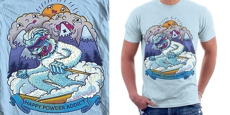 characterdesign, yeti, skier - arisuber   ello