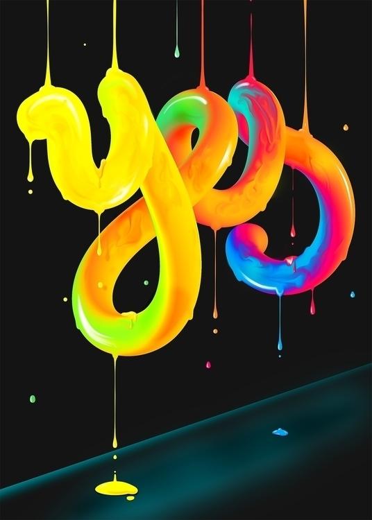illustration, lettering - josebernabe | ello
