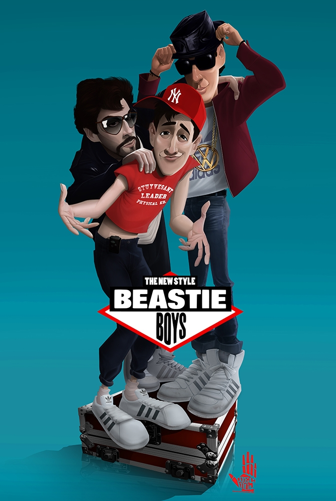 Beastie Boys - beastieboys, illustration - dedos-1276 | ello