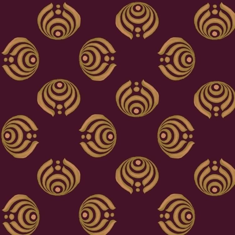Strength pattern - chinesesymbol - irene_rofail | ello