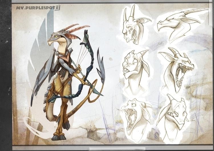 Sakaya - characterdesign, conceptart - mvpurplespot | ello