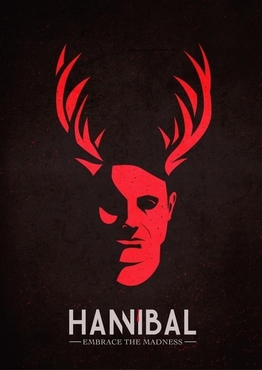Hannibal Poster - illustration, poster - maryam-3647 | ello