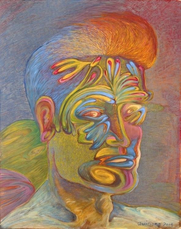Varon Oil, canvas paper. 2014 - painting - quinoro | ello