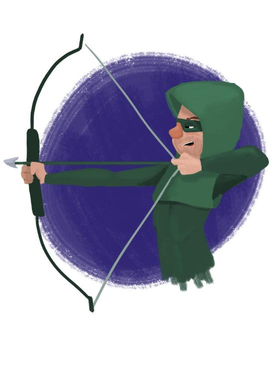 arrow sketch - characterdesign, thearrow - cjwords | ello