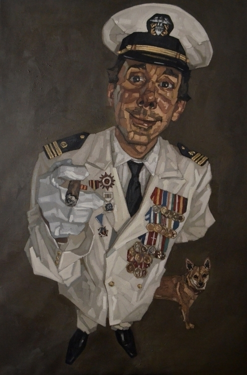 Lieutenant Commander -2, oil li - diegocereromolina | ello