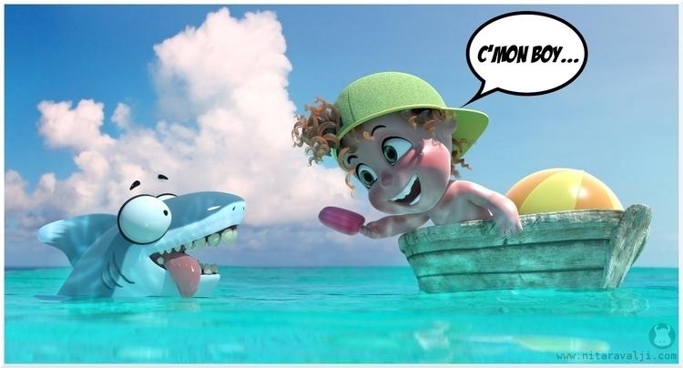 Good Boy  - characterdesign, illustration - nitz-5881 | ello