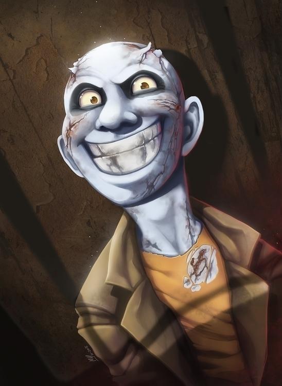 Pepe el zombi - illustration, zombie - mvpurplespot | ello