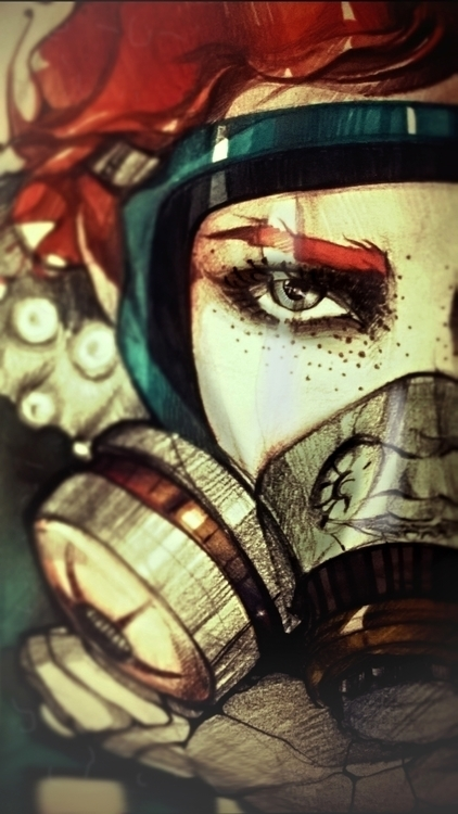 illustration, characterdesign - lidiagh   ello