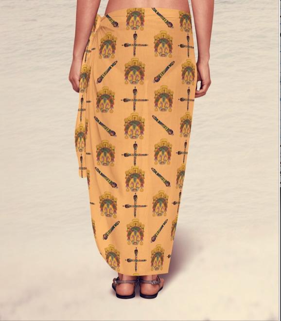 Sarong - pattern, surfacedesign - irene_rofail | ello