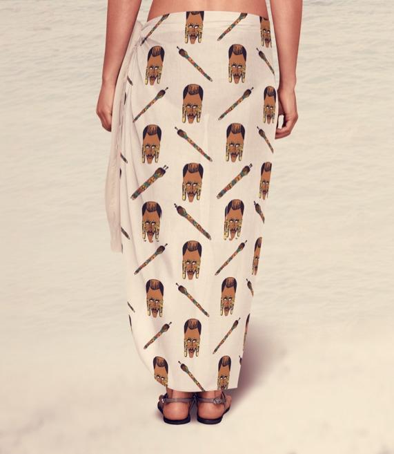 Sarong - sarong, swimwear, fashiondesign - irene_rofail | ello