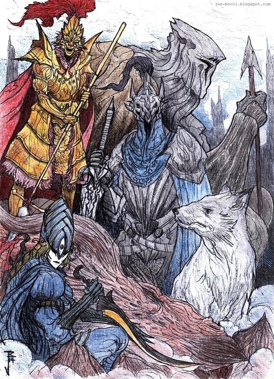 Dark Souls - Dragonslayers - joebecci | ello