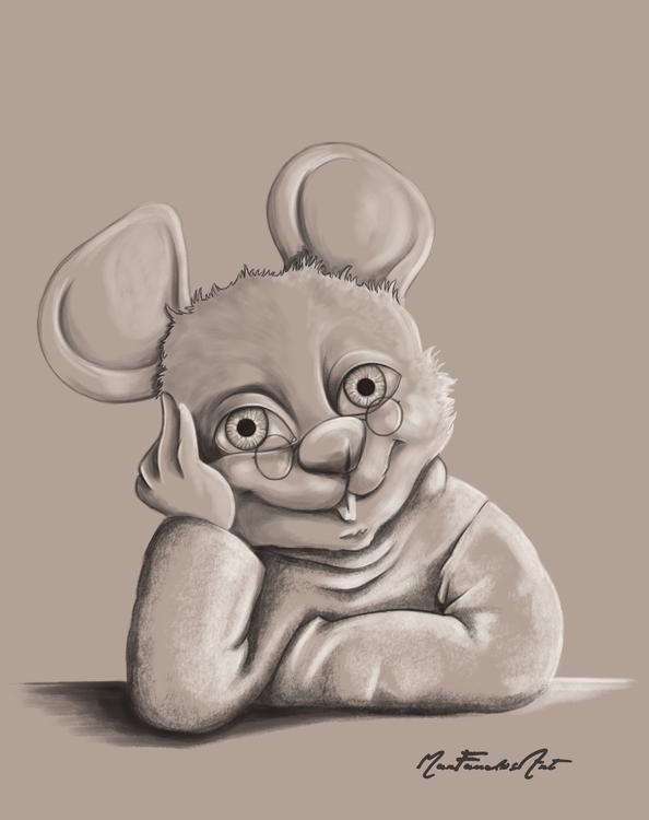 DAY 8 - mouse - nice, picturebook - marfandosart | ello