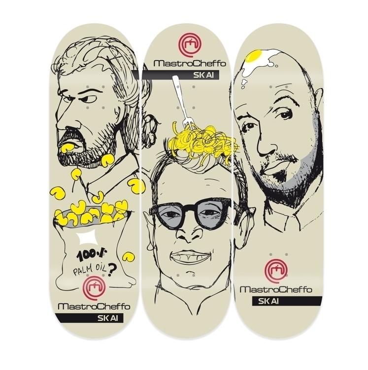 funny skateboard decks graphic  - amfremantle | ello