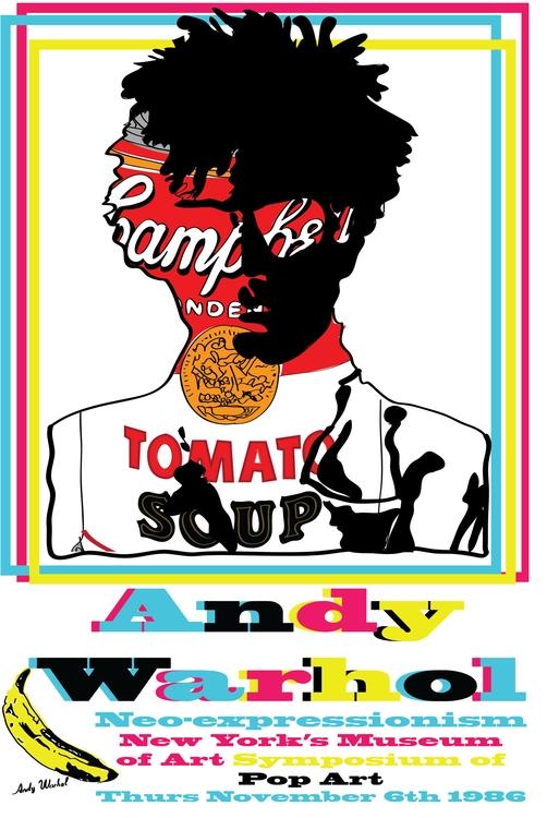 Andy Warhol tribute poster - illustration - torresj | ello