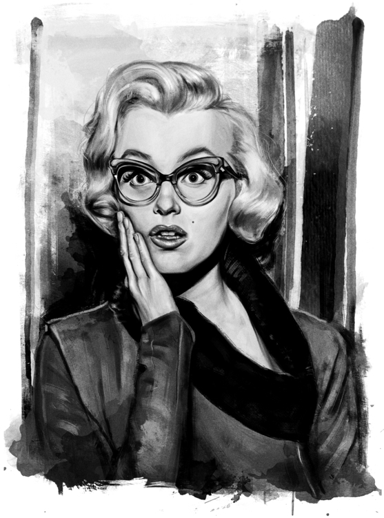 beautiful Marilyn Monroe - marilynmonroe - johnt-1153 | ello
