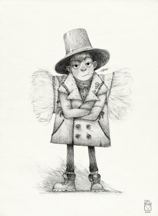 Sketchtober | 010 - illustration - blad_moran | ello
