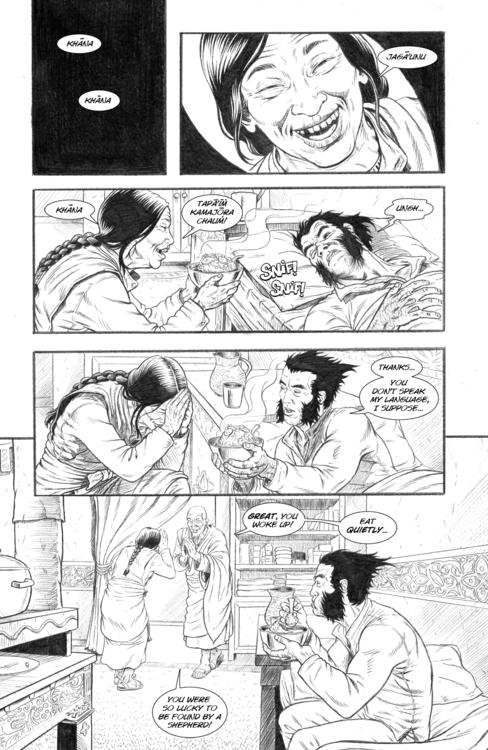 Nightmare page 14 - wolverine, comicbooks - alexfemenias | ello