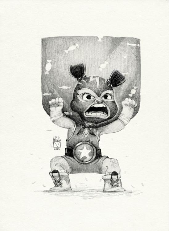 Sketchtober | 012 - characterdesign - blad_moran | ello