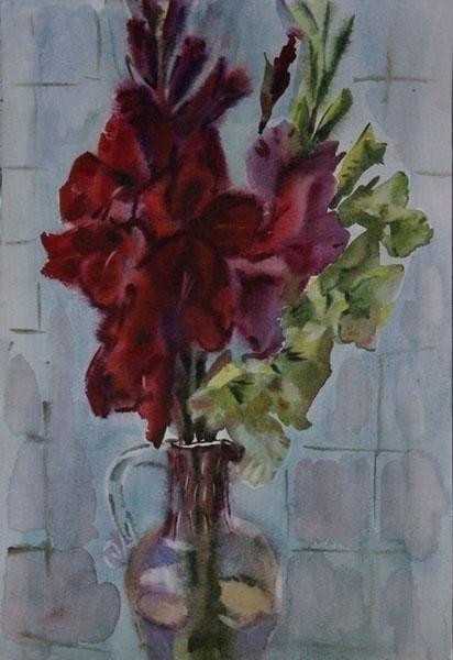 flowers, watercolor, watercolour - naktisart | ello