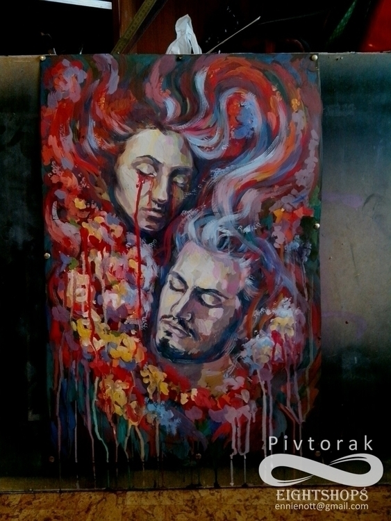 Petersburg - painting, Russia, Saint - victorovna | ello