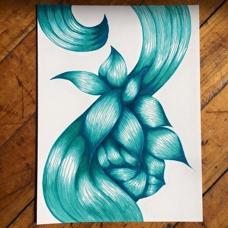 Drawing Faber-Castell. MarShew  - marshew | ello