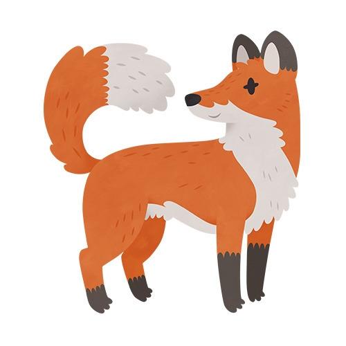 Fox (English Countryside book - fox - clairestamper | ello