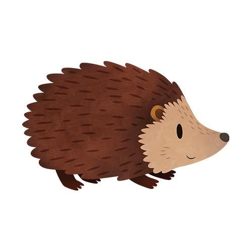 Hedgehog (English Countryside b - clairestamper | ello