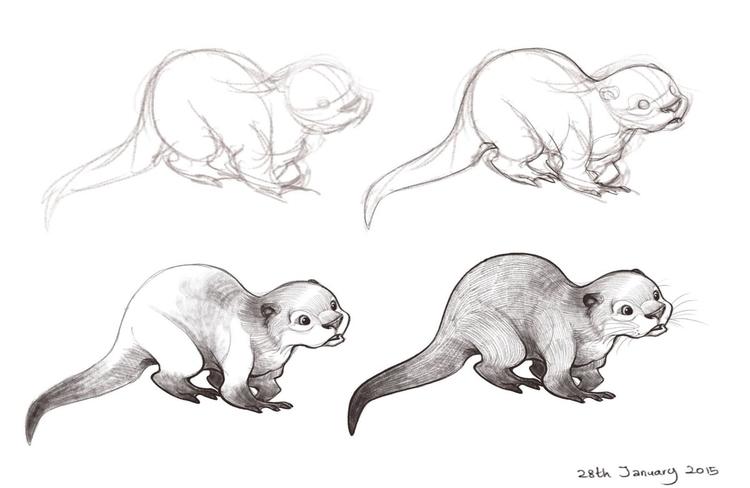 love Otters - DavidAttenborough - sksk270 | ello