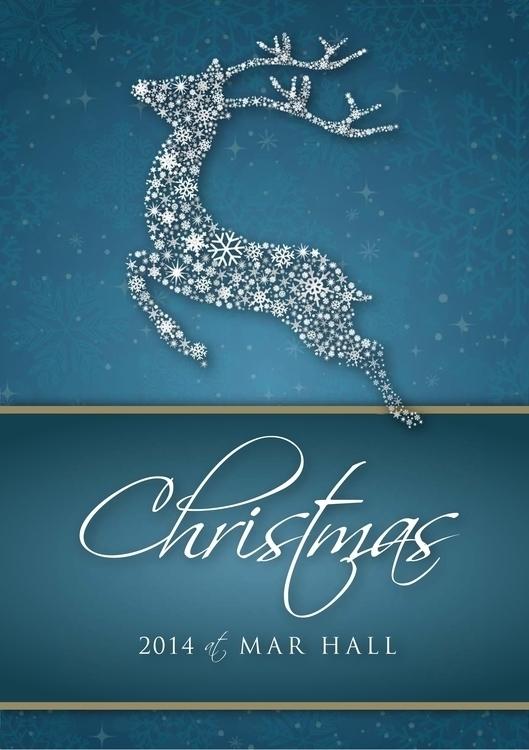 Mar Hall Christmas Menu Cover - jenniferreid-1004 | ello