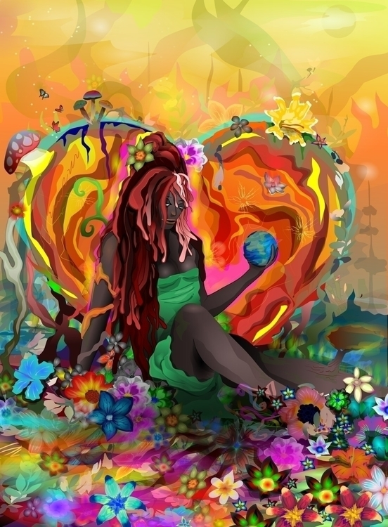 Cherish Earth... Inkscape ixniv - ixnivek-4991   ello