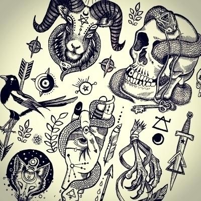 Lesser Alchemy - occult, sigils - polkip | ello