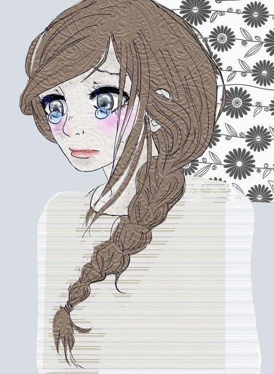 illustration, digitalart, cute - nyaoko_   ello