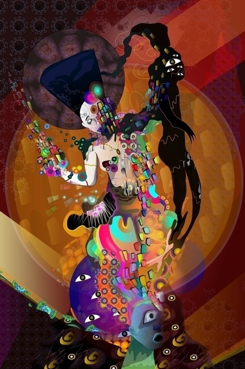 Experimental work. Collage-patt - ixnivek-4991 | ello