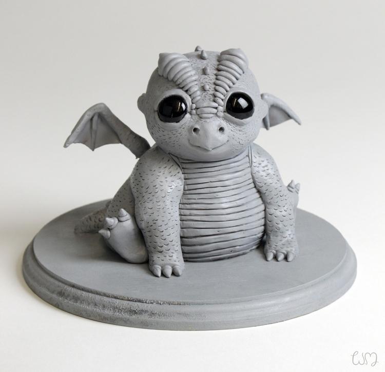 ~3D Sculpture - Baby Dragon~ ba - tareqbareich | ello