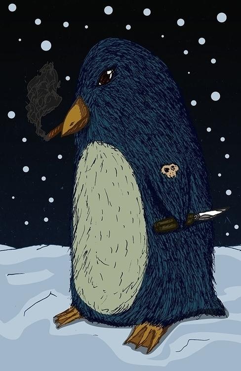 Cold killa - illustration, characterdesign - bananabits | ello