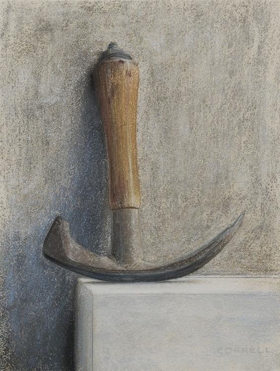 barrel hammer - illustration, painting - gregcorrell | ello