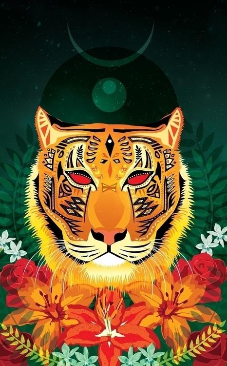 Tyger - tiger, animal, nature, spirits - polkip | ello