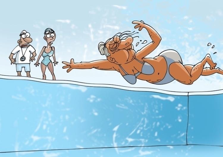 swimming, pool, swimmer, summer - gatissluka | ello