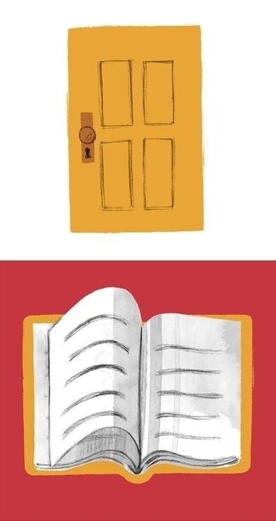 library, door, book - cmouta | ello