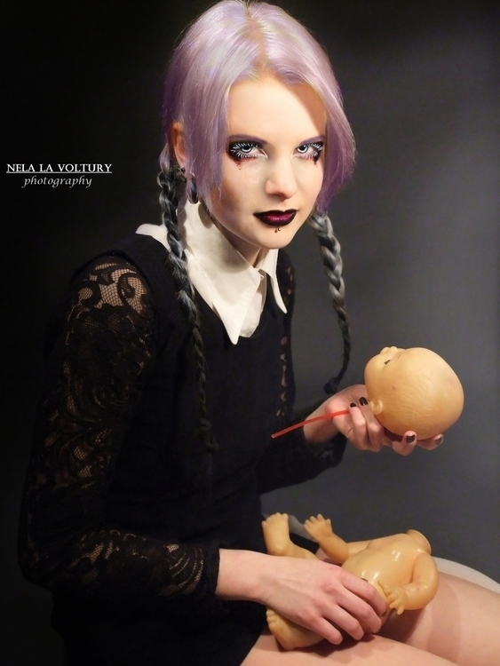Model, Hair: Lussye Schöndorf P - nelagriminelli_art | ello