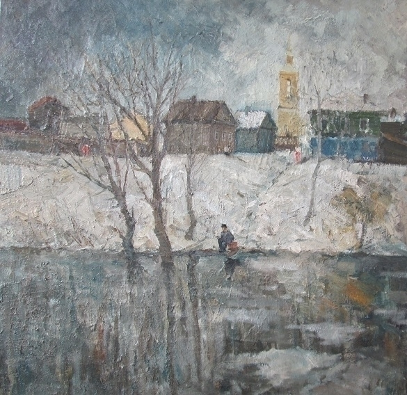 spring - painting, wintersnow, environment - antonbogatov | ello