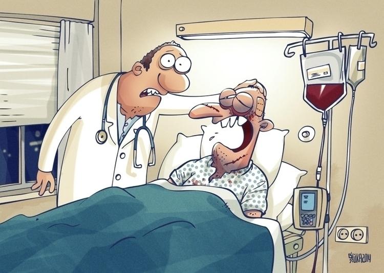 sick, hospital, doctor, blood - gatissluka | ello