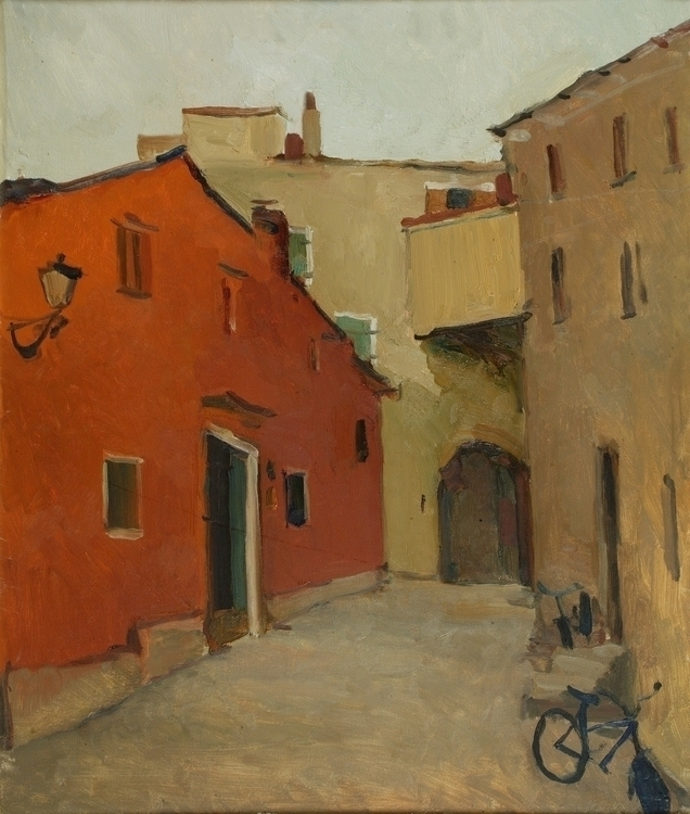Italian alley, 60/70, Oil / can - antonbogatov | ello