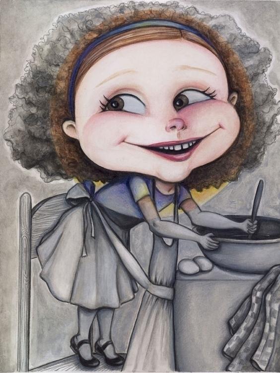 Happy - happy, children'sillustration - catsnodgrass   ello